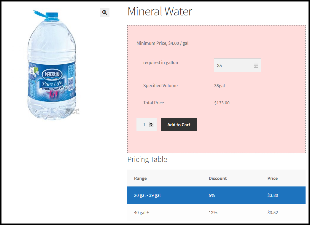 Woocommerce Measurement Price Calculator-product pricing by volume
