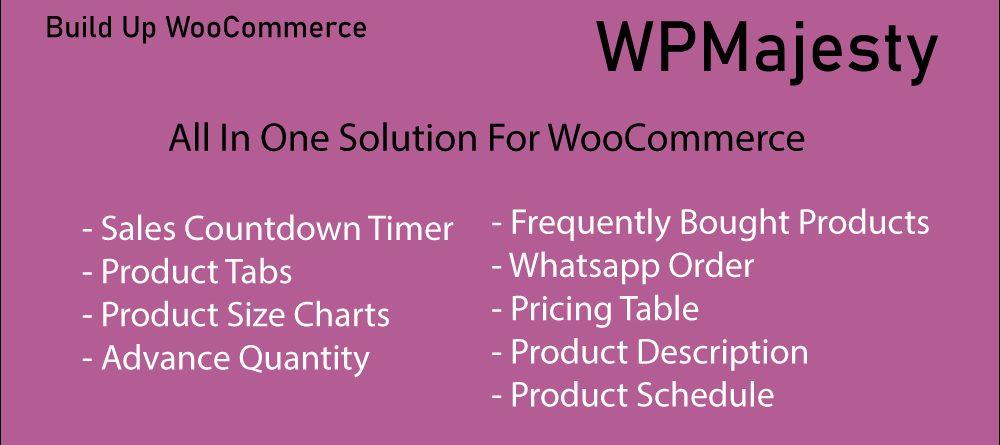 build up woocommerce