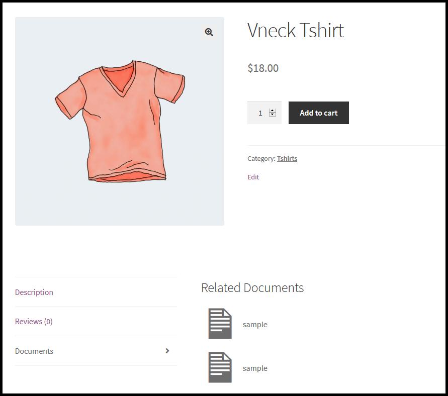 WooCommerce Product Document Plugin